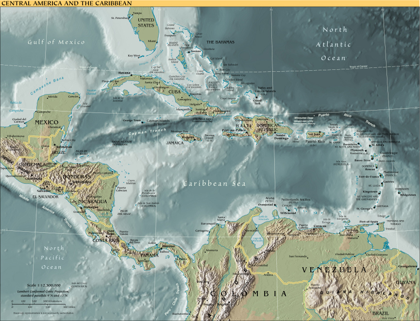 Maps download world map map europe usa asia oceania map central america and caribbean map central america and caribbean gumiabroncs Choice Image