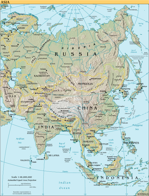 Download Asia Map (329KB)