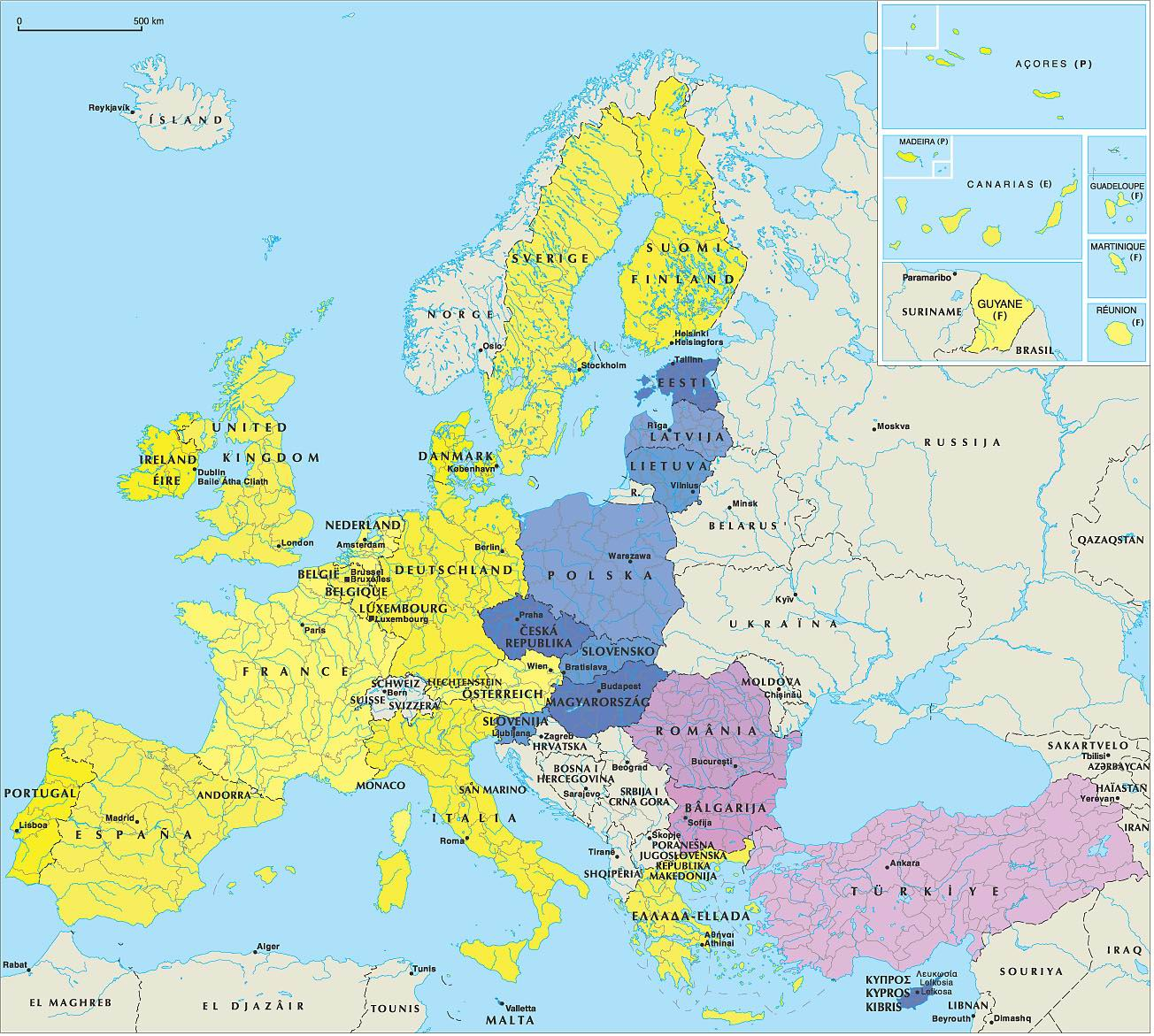 Maps download -> World Map, Map: Europe / USA / Asia / Oceania ...