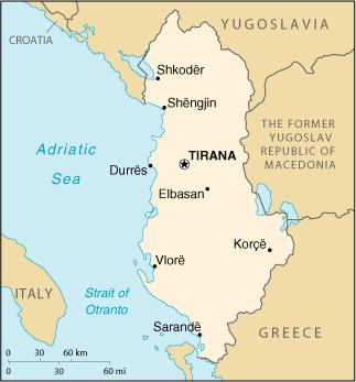 Karte Albanien.Landkarte Albanien Landkarten Download Albanienkarte Albanien