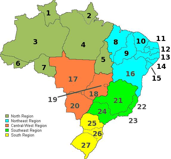 Costa Rica Karte Zum Ausdrucken.Landkarte Brasilien Landkarten Download Brasilienkarte