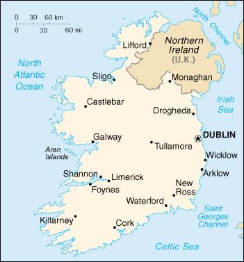 Irland Karte Städte.Landkarte Irland Landkarten Download Irlandkarte Irland Landkarte