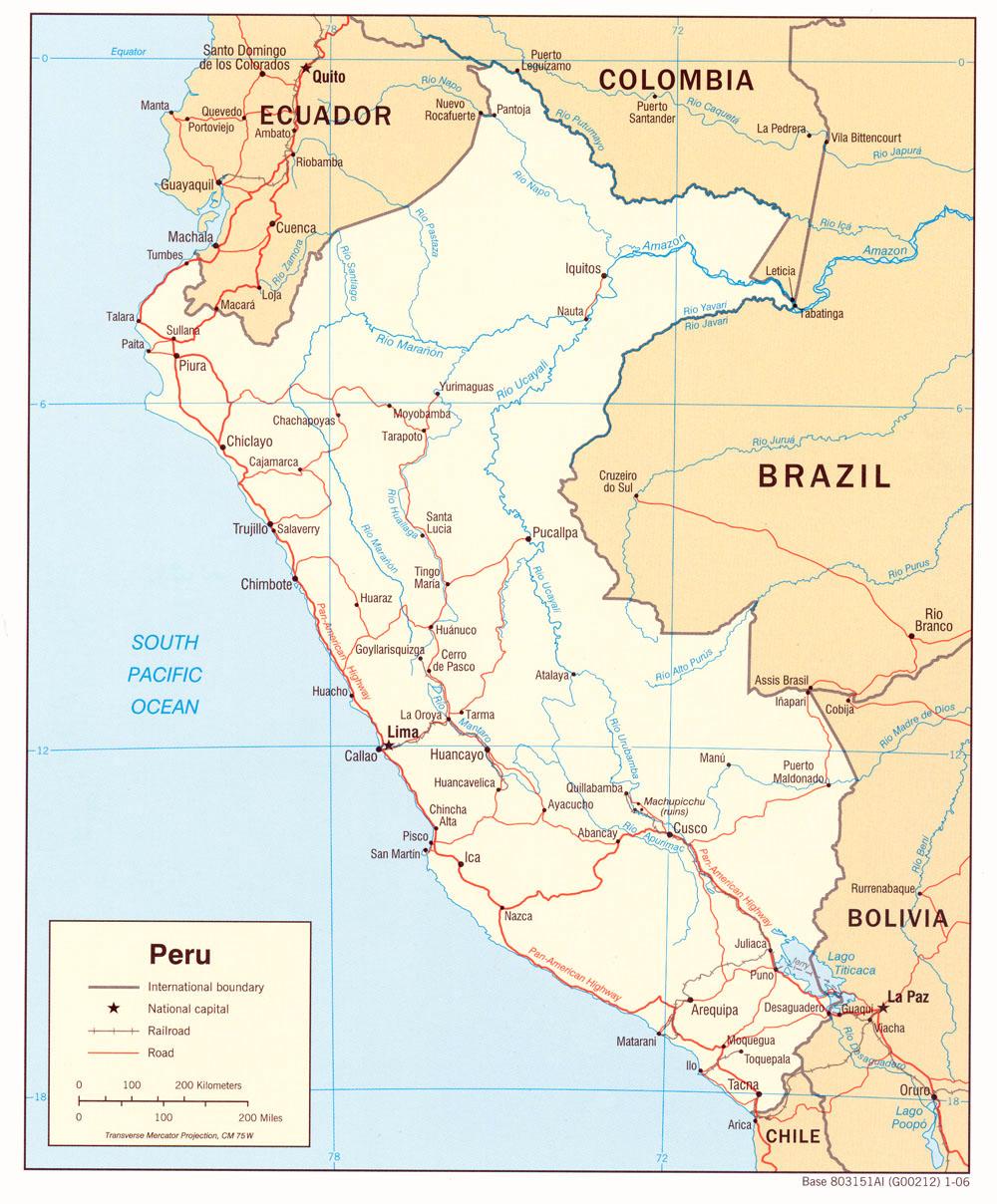 Peru Karte.Landkarte Peru Landkarten Download Perukarte Peru Landkarte