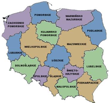 Landkarte Polen Landkarten Download Polenkarte Polen Landkarte