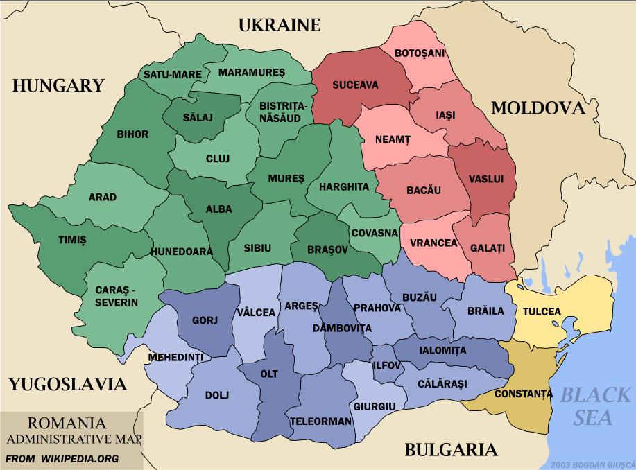 Karte Bulgarien.Landkarte Rumanien Landkarten Download Rumanienkarte