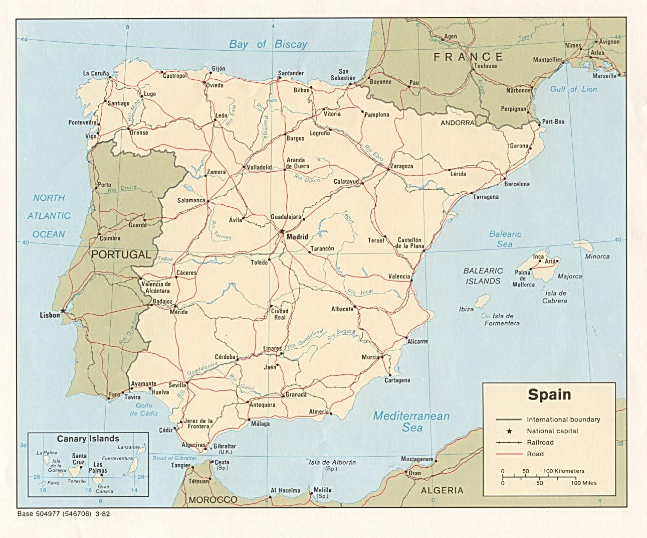 Spanien Regionen Karte.Landkarte Spanien Landkarten Download Spanienkarte Spanien