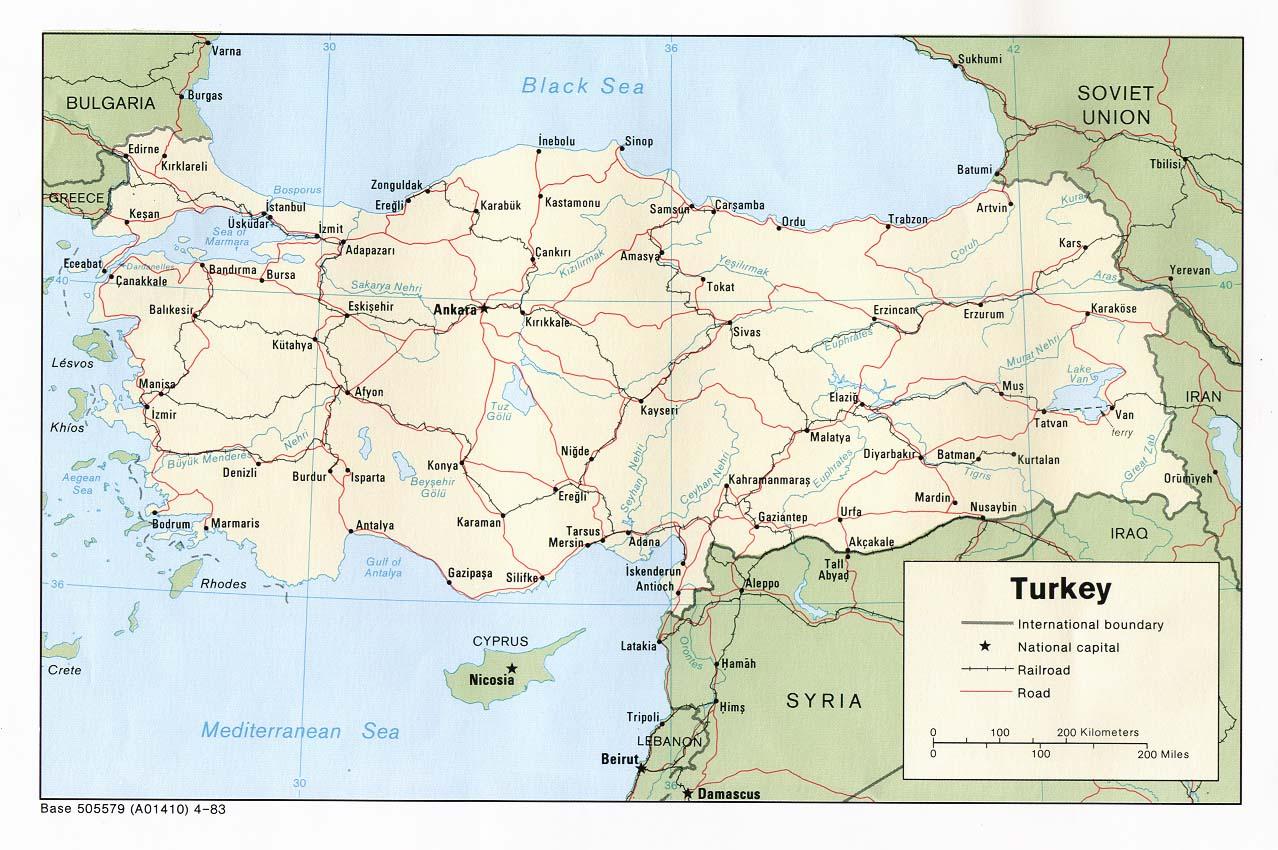 Gebze Turkey  city images : Landkarte Türkei Landkarten download > Türkeikarte / Türkei ...