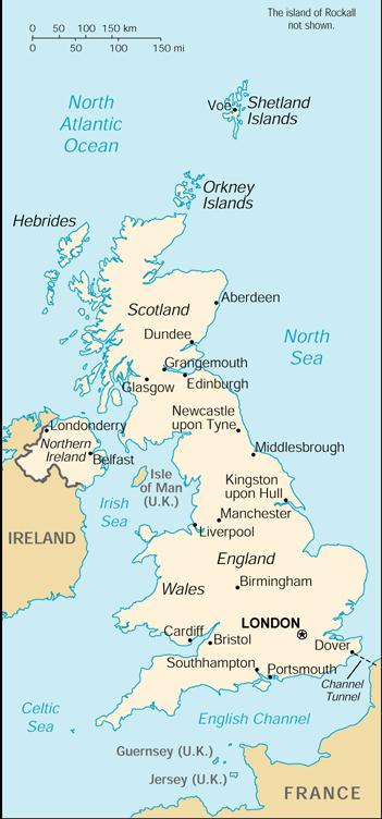 Landkarten Download Landkarte Vereinigtes Konigreich Irland